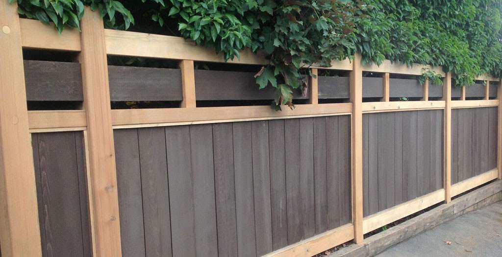 Exterior Fence Painting Urban Strokes Vancouver