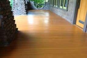 Edgegrain Fir Wooden Deck